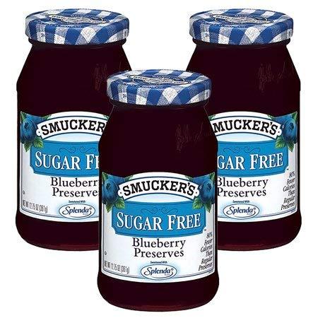 (Smucker's Sugar Free Blueberry Preserves 12.75oz Jar (Pack of 3))