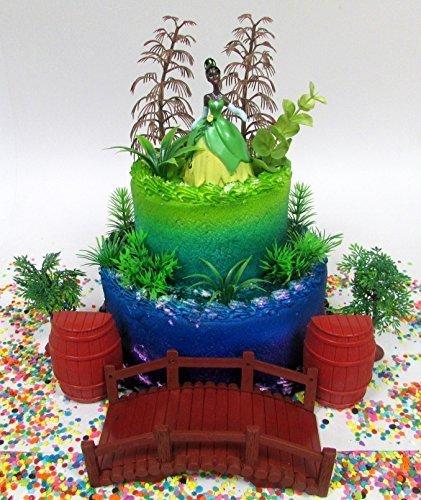 Princess and the Frog PRINCESS TIANA Birthday Cake Topper Fe