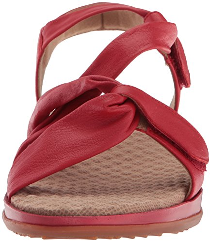 Softwalk Dames Del Rey Mule Rood
