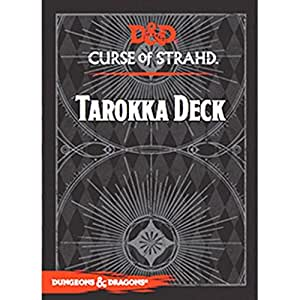 Dungeons & Dragons: Curse of Strahd Tarokka Deck