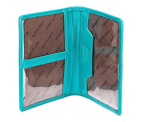 WITTCHEN caso, Mare, Dimensione: 12x9.5 cm - Materiale: Pelle verniciata - 25-2-163-M
