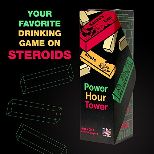Power Hour Tower Drinking Game – Hilarious, Entertaining