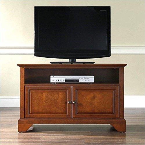 Crosley Furniture LaFayette 42-Inch TV Stand, Classic Cherry