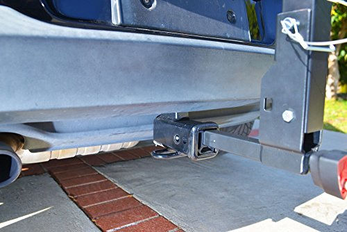 Allen Sports Deluxe Locking Quick Release 3-Bike Carrier for 2 in. & 1 4 in. Hitch by Allen Sports (Image #4)