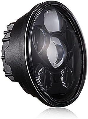 Amazon.com: Funlove faros delanteros LED de 5.75 pulgadas ...
