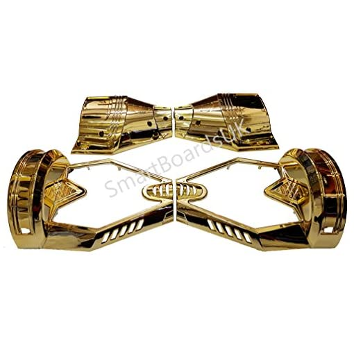 8″ Hoverboard CHROME Plastic Shell – Housse Swegway 8 pouces Frame 2 Wheel Smart Balance Scooter Plastics (OR)