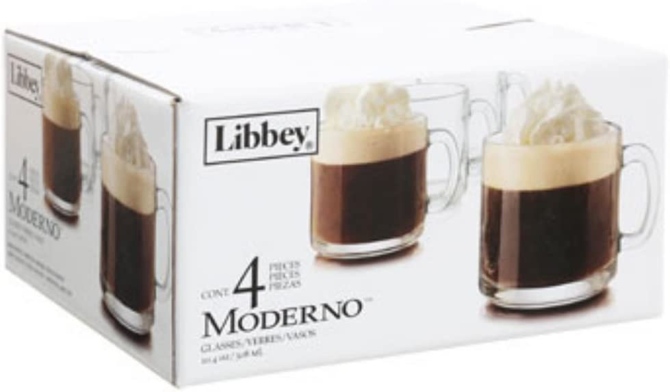 4 Count Libbey Irish Coffee Mug