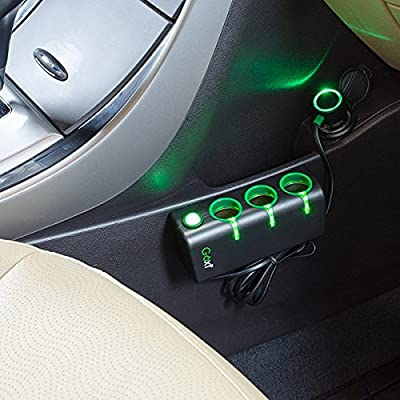 GOXT 23403 12V Triple Socket with Lighted On/Off Switch: Automotive