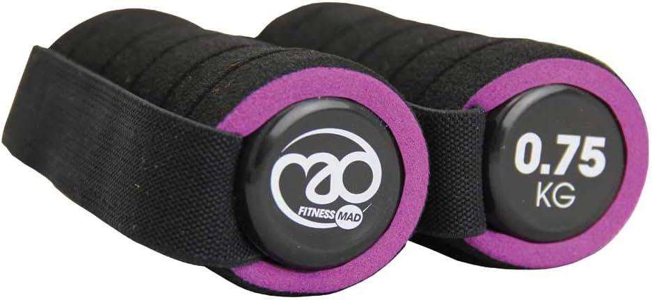 Fitness Mad Pro Hanteln Violett violett 0,75 kg