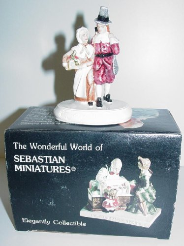 Sebastian Miniature - The Pilgrims - 1958 Model # 6324 Handcast & Hand Painted ()