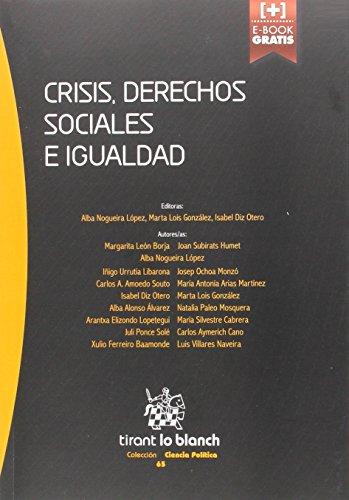 Descargar Libro Crisis, Derechos Sociales E Igualdad Juli Ponce Solé
