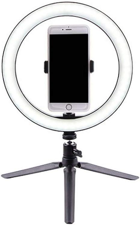 Amazon | LED リング ライト 卓上 3色 モード 調光 撮影 照明 スマホ スタンド 三脚 USBライト Youtube 自撮り セルフィー  RINGLIGHT | 定常光ライト 通販