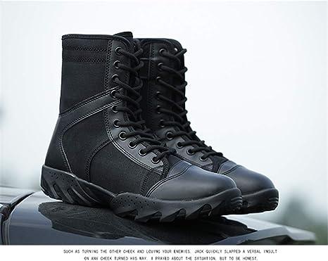 1c32c846c57b1 Amazon.com: Military Outdoor Hiking Shoes Mountain Tactical Combat ...