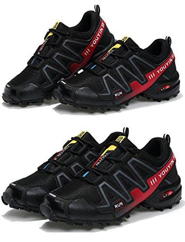 Männer Mesh Laufschuhe Sport Outdoor Wanderschuhe 38-44 Black