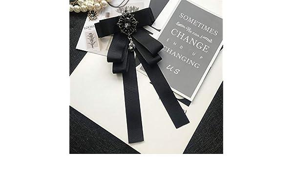 TiePjQE Pajaritas Bow Tie Collar Rhinestone Bow Tie Collar de boda ...