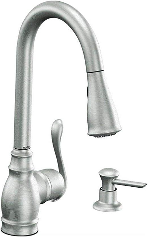 Moen Ca87003srs 1h Srs Kitchen Faucet Touch On Kitchen Sink Faucets Amazon Com