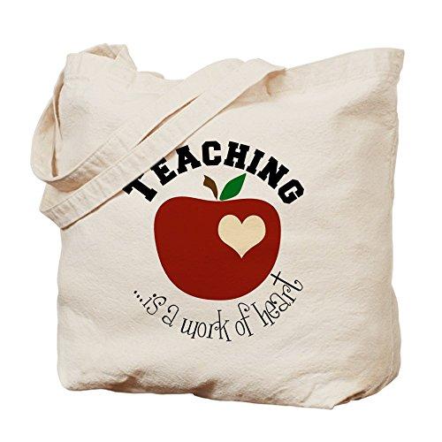 CafePress–enseñanza Tote Bag–Natural gamuza de bolsa de lona bolsa, bolsa de la compra