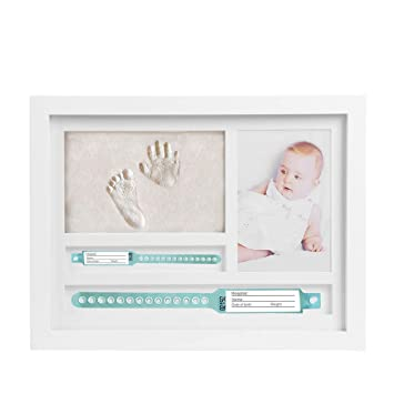 marco de fotos huellas recién nacido de fotos para huella Niño manos ...