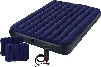 Amazon.com: Juego de colchón inflable mullido ...