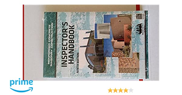 Reinforced concrete masonry construction inspectors handbook 9th reinforced concrete masonry construction inspectors handbook 9th edition icc 9780940116658 amazon books fandeluxe Gallery