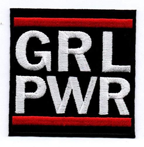 GRL PWR Aufn/äher B/ügelbild Iron on Patch