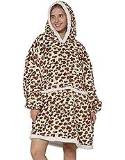 Blanket Hoodie,Wearable Blanket,Sweatshirt Blanket,Oversized Hoodie,Comfy Blanket Sweatshirt,Sweater Blanket,Sherpa Cozy Giant Hoodie Blankets for Women Men Adults Kids