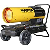 Master MH-220T-DFV Dual Fusion Forced Air Heater with Thermostat, 170K - 220K BTU