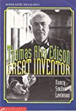 img - for Thomas Alva Edison, Great Inventor (Scholastic Biography) book / textbook / text book
