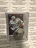 Emmitt Smith Dallas Cowboys Mini Helmet Card Display Case Collectible Auto HOF