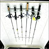 DU-BRO Fishing Trac-A-Rod Storage System, 2-Feet, Silver/White