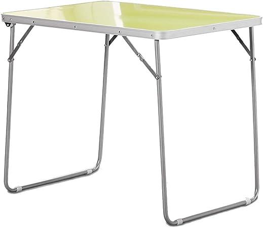 LHF123 - Mesa Plegable de Aluminio, Mesa de Camping, Mesa de ...