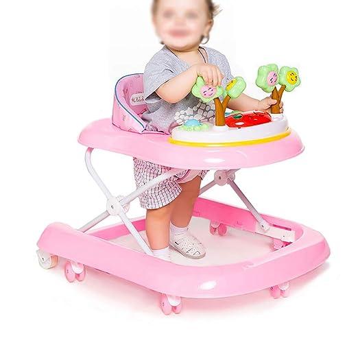 LFY Andador para bebés, Andador Plegable de Empuje Manual ...