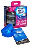 SmartGuard Elite Dental Guard (2-Pack) INCLUDES - Travel Case & Molding Instructions – TMJ Dentist Designed for Clenching & Grinding – Mouth Splint for Relief from Bruxism – American Made