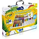 Crayola Inspiration Art Case: Art Tools, 140 Pieces, Crayons, Colored Pencils, Washable Markers, Paper, Portable...