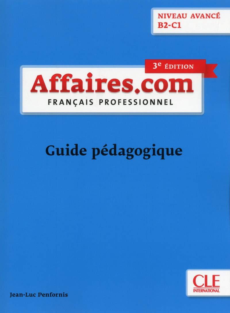 Download Affaires.com: Guide pedagogique pdf epub