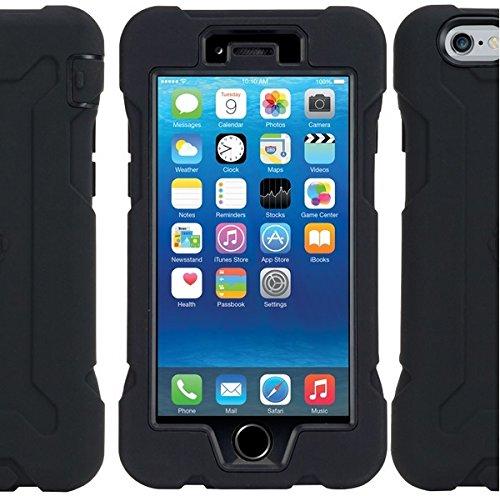 Gecko robuste pour Apple iPhone 6 Plus-Noir