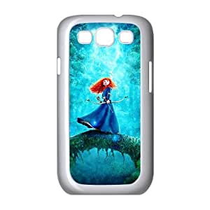 Brave Samsung Galaxy S3 9300 Cell Phone Case White Phone cover J9739042