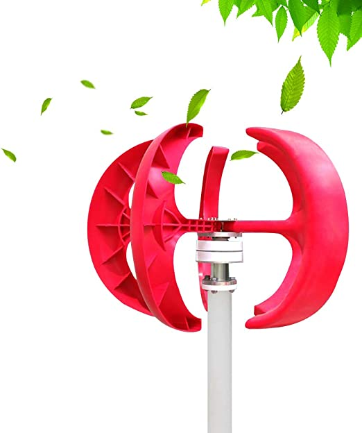 Riuty Wind Generator 600W DC12V Vertical Wind Turbine Generator for Charging Batteries for Boats Cabins 1#