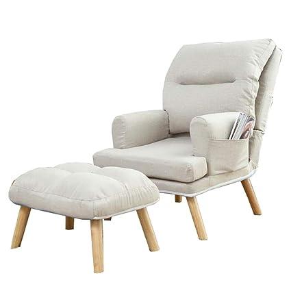 Incredible Amazon Com Ljfyxz Folding Lazy Sofa Chair Double Backrest Frankydiablos Diy Chair Ideas Frankydiabloscom