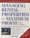 Managing Rental Properties for Maximum Profit, Greg M. Perry, 0761525319