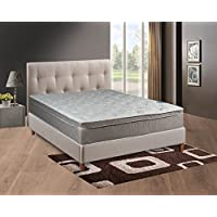 Continental Sleep Mattress, 10 Pillowtop Eurotop , Fully Assembled Orthopedic Queen Mattress,Body Rest Collection