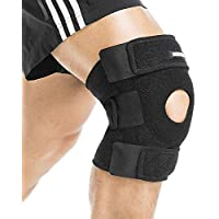 Knee Brace Support, Berter Breathable Knee Sleeve Men Women Knee Stability & Recovery Aid, Open Patellar Compression for Basketball, Arthritis, Running and Hiking