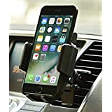 Car Mount, JAMRON Twist-lock Air Vent Car Mount Holder with Quick Release Button and Kickstand for iPhone 7 7 Plus/ 6s Plus/6s/6,Samsung Lg Sony and Other Android Phones