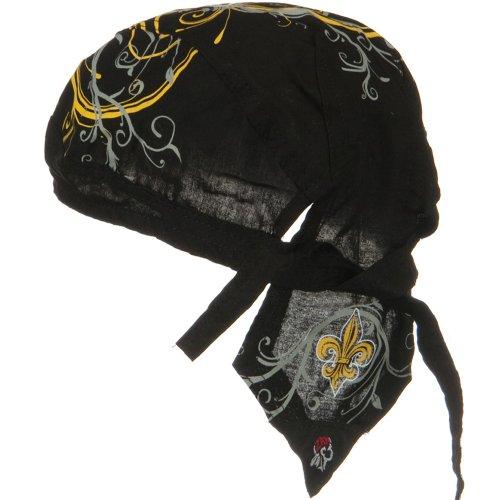 - Road Hog Series Headwraps-Fleurde Lis 2 OSFM
