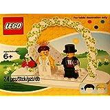 LEGO Mini Figure Set 853340 Wedding Bride Groom Table Decoration