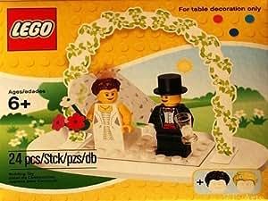 LEGO Mini Figure Set #853340 Wedding Bride Groom Table Decoration (japan import)