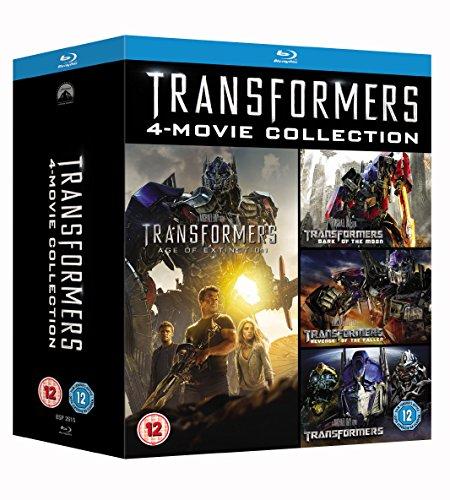 Review Transformers 1-4 [Blu-ray] Box