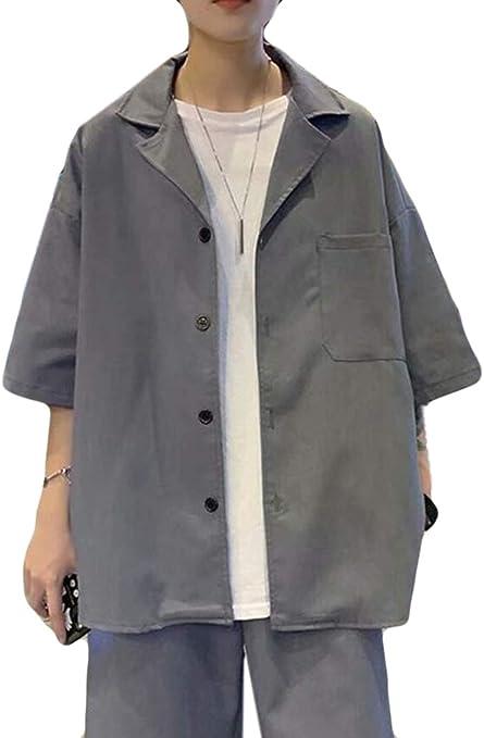 PPEIREEブレザー メンズ 夏服 七分袖 テーラードジャケット カジュアル アウター おしゃれ 薄手 ジャンパー ゆったり 薄手 スーツジャケット スタイリッシュ