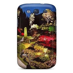 Premium Durable Garden At Night Fashion Tpu Galaxy S3 Protective Case Cover