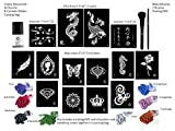 G Body Art Glitter Tattoo Fire Dragon Kit